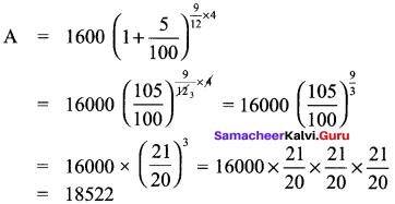 Samacheer Kalvi 8th Maths Solutions Term 2 Chapter 1 Life Mathematics Ex 1.3 1