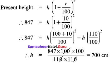 Samacheer Kalvi 8th Maths Solutions Term 2 Chapter 1 Life Mathematics Ex 1.3 7