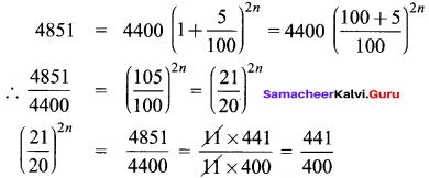Samacheer Kalvi 8th Maths Solutions Term 2 Chapter 1 Life Mathematics Ex 1.3 9