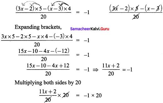Samacheer Kalvi 8th Maths Solutions Term 2 Chapter 2 Algebra Ex 2.1 11