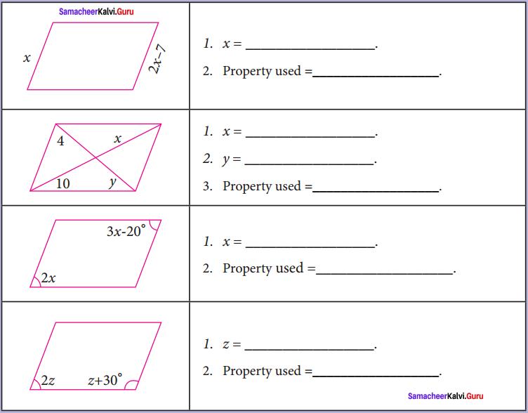 Samacheer Kalvi 8th Maths Solutions Term 2 Chapter 3 Geometry Intext Questions 5