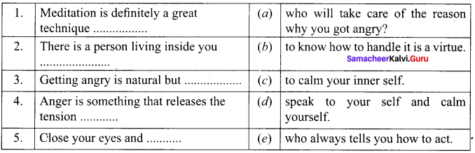 A Poison Tree Book Back Answers Samacheer Kalvi 9th English Solutions Poem Chapter 2