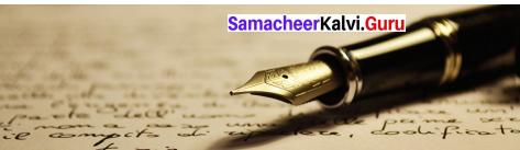 A Birthday Letter By Jawaharlal Nehru Samacheer Kalvi 9th English Solutions Prose Chapter 7