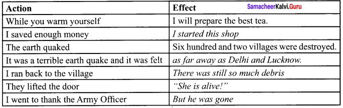 Earthquake Lesson For 9th Class In English Samacheer Kalvi Chapter 3