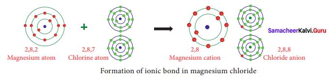 Chapter 13 Chemical Bonding Samacheer Kalvi 9th Science Solutions