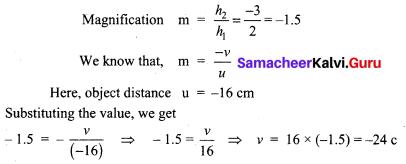 Samacheerkalvi.Guru 9th Science Solutions Chapter 6 Light