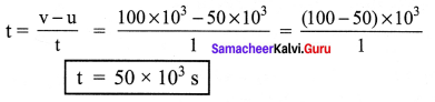 Samacheer Kalvi 7th Science Book Solutions Term 1 Chapter 2 Force And Motion