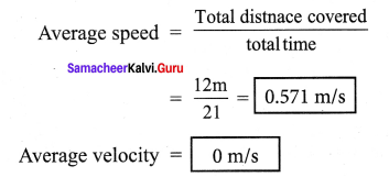 Samacheer Kalvi 7th Science Books Term 1 Chapter 2 Force And Motion