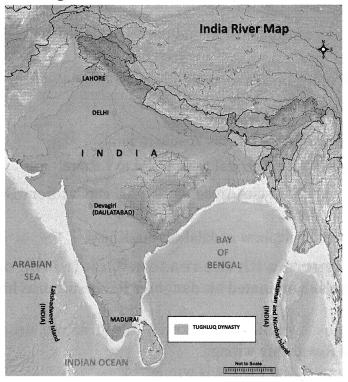 The Delhi Sultanate Class 7 In Tamil Social Science History Solutions Term 1 Chapter 4 Samacheer Kalvi
