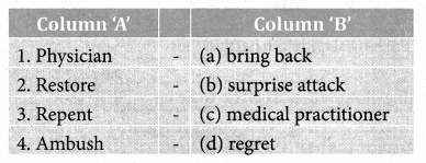 The Three Questions Book Back Answers Samacheer Kalvi 8th English Solutions Term 2 Supplementary Chapter 1