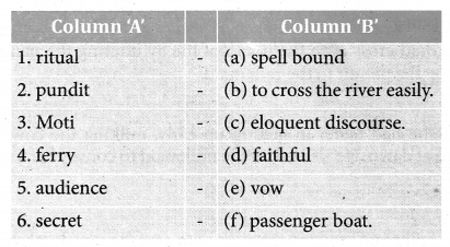 Crossing The River 8th Std Samacheer Kalvi English Solutions Term 2 Supplementary Chapter 2