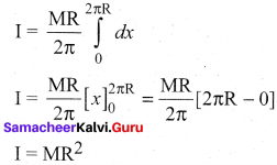 Samacheer Kalvi Guru 11 Physics Solutions Chapter 5 Motion Of System Of Particles And Rigid Bodies