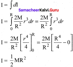 Physics Class 11 Samacheer Kalvi Solutions Chapter 5 Motion Of System Of Particles And Rigid Bodies