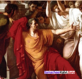 Samacheer Kalvi 12th English Solutions Supplementary Chapter 6 Remember Caesar (Play) img-1