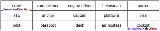 Sindbad My First Voyage 7th English Samacheer Kalvi Solutions Term 3 Supplementary Chapter 1