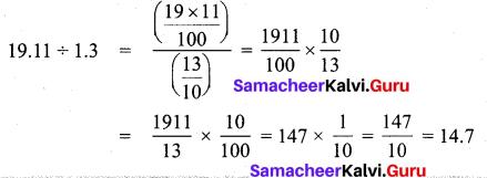 Samacheer Kalvi 7th Maths Solutions Term 3 Chapter 1 Number System 1.4 3