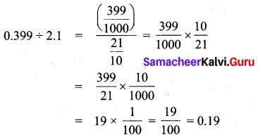 Samacheer Kalvi 7th Maths Solutions Term 3 Chapter 1 Number System 1.4 4