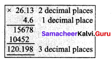 Samacheer Kalvi 7th Maths Solutions Term 3 Chapter 1 Number System 1.5 4