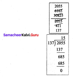 Samacheer Kalvi 7th Maths Solutions Term 3 Chapter 1 Number System 1.5 7