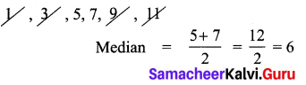 Samacheer Kalvi 7th Maths Solutions Term 3 Chapter 5 Statistics Ex 5.3 7
