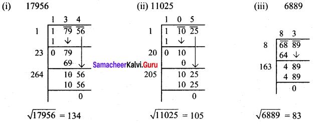 Samacheer Kalvi 8th Maths Solutions Term 3 Chapter 1 Numbers Ex 1.2 4