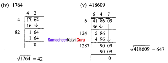 Samacheer Kalvi 8th Maths Solutions Term 3 Chapter 1 Numbers Ex 1.2 5