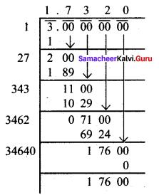 Samacheer Kalvi 8th Maths Solutions Term 3 Chapter 1 Numbers Ex 1.3 4