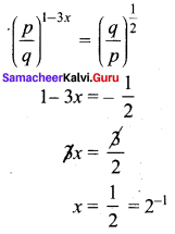 8th Maths Exercise 1.4 Solutions Term 3 Chapter 1 Numbers Samacheer Kalvi