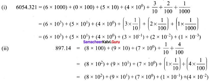 Samacheer Kalvi 8th Maths Book Solutions Term 3 Chapter 1 Numbers Ex 1.4