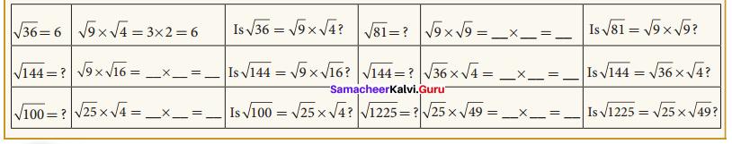 Samacheer Kalvi 8th Maths Solutions Term 3 Chapter 1 Numbers Intext Questions 11