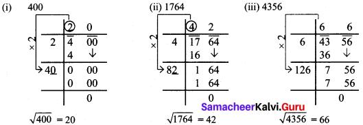 Samacheer Kalvi 8th Maths Solutions Term 3 Chapter 1 Numbers Intext Questions 8