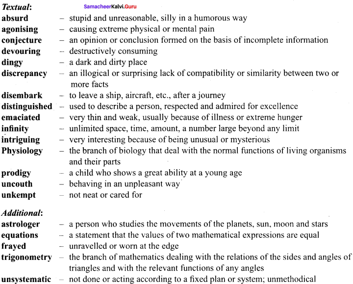 Summary Of From Zero To Infinity Samacheer Kalvi 9th English Solutions Prose Chapter 6