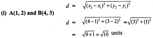 9th Maths Exercise 5.2 Solution Samacheer Kalvi Chapter 5 Coordinate Geometry
