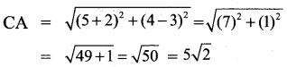 9th Maths Exercise 5.2 Samacheer Kalvi Chapter 5 Coordinate Geometry