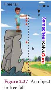 Class 11 Physics Samacheer Kalvi Solutions Chapter 2 Kinematics