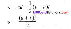 Physics Class 11 Samacheer Kalvi Solutions Chapter 2 Kinematics