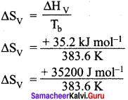 11th Samacheer Kalvi Chemistry Solutions Chapter 7 Thermodynamics