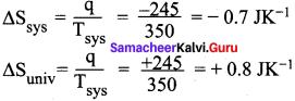 Samacheer Kalvi 11th Chemistry Solution Chapter 7 Thermodynamics