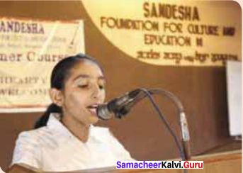The Convocation Address Question And Answer Samacheer Kalvi 11th English Solutions Prose Chapter 5
