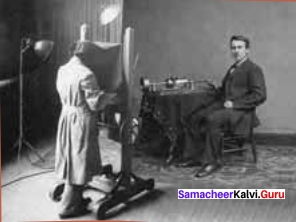 With The Photographer Summary Samacheer Kalvi 11th English Solutions Supplementary Chapter 4