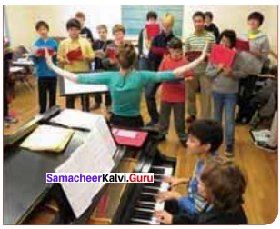 Samacheer Kalvi 11th English Solutions Supplementary Chapter 5 The Singing Lesson