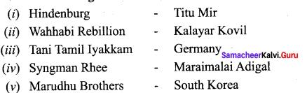 Samacheer Kalvi 10th Social Science Model Question Paper 5 English Medium - 1