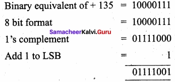Samacheer Kalvi 11th Computer Applications Solutions Chapter 2 Number Systems