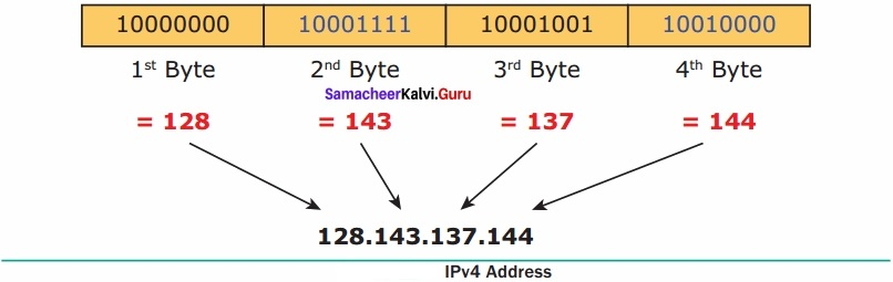 Samacheer Kalvi 12th Computer Applications Solutions Chapter 12 DNS (Domain Name System)