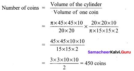 Tamil Nadu 10th Maths Model Question Paper 1 English Medium - 18