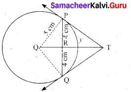 Tamil Nadu 10th Maths Model Question Paper 5 English Medium - 21