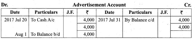Tamil Nadu 11th Accountancy Model Question Paper 2 English Medium - 20