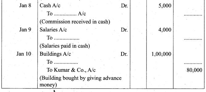 Tamil Nadu 11th Accountancy Model Question Paper 3 English Medium - 13