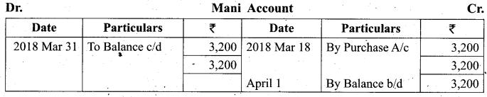 Tamil Nadu 11th Accountancy Model Question Paper 3 English Medium - 18