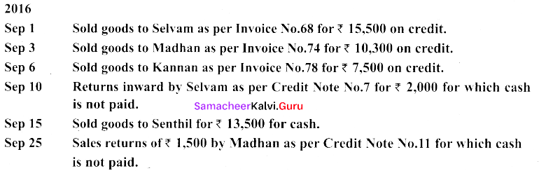 Tamil Nadu 11th Accountancy Previous Year Question Paper June 2019 English Medium 44